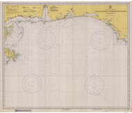 Cape St. George to Mississippi Passes 1940 AC General Chart 1115