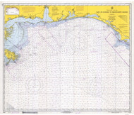Cape St. George to Mississippi Passes 1944 A AC General Chart 1115