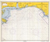 Cape St. George to Mississippi Passes 1966 AC General Chart 1115