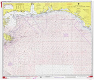 Cape St. George to Mississippi Passes 1975 AC General Chart 1115