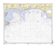Cape St. George to Mississippi Passes 2001 AC General Chart 1115