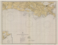 Mississippi River to Galveston 1935 AC General Chart 1116
