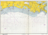 Mississippi River to Galveston 1965 AC General Chart 1116