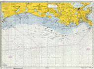 Mississippi River to Galveston 1970 AC General Chart 1116