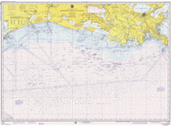 Mississippi River to Galveston 1975 AC General Chart 1116