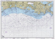 Mississippi River to Galveston 1990 AC General Chart 1116