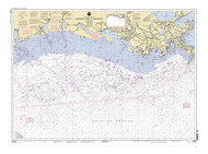 Mississippi River to Galveston 2001 AC General Chart 1116