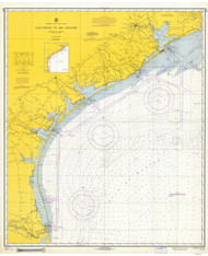 Galveston to Rio Grande 1967 AC General Chart 1117