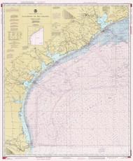 Galveston to Rio Grande 1987 AC General Chart 1117