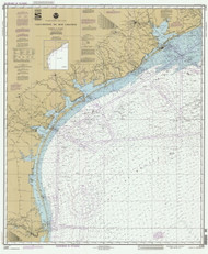 Galveston to Rio Grande 1992 AC General Chart 1117