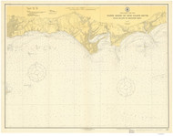 Duck Island to Madison Reef 1917 - Old Map Nautical Chart AC Harbors 216 - Connecticut
