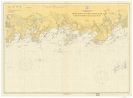 Guilford Harbor to East Haven River 1918 A - Old Map Nautical Chart AC Harbors 217 - Connecticut
