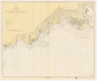 Stratford to Sherwood Point 1919 - Old Map Nautical Chart AC Harbors 220 - Connecticut