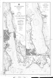 New London Harbor and Vicinity 1903 - Old Map Nautical Chart AC Harbors 293 - Connecticut
