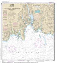 Niantic Bay and Vicinity 2014 - Old Map Nautical Chart AC Harbors 13211 - Connecticut