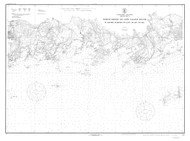 Guilford Harbor to East Haven River 1918 C - Old Map Nautical Chart AC Harbors 217 - Connecticut