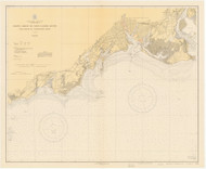 Stratford to Sherwood Point 1931 - Old Map Nautical Chart AC Harbors 220 - Connecticut