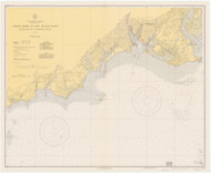 Stratford to Sherwood Point 1939 - Old Map Nautical Chart AC Harbors 220 - Connecticut