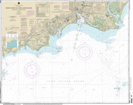 Stratford to Sherwood Point 1973 - Old Map Nautical Chart AC Harbors 12369 - Connecticut