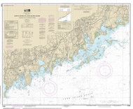 Sherwood Point to Stamford Harbor 2014 - Old Map Nautical Chart AC Harbors 12368 - Connecticut