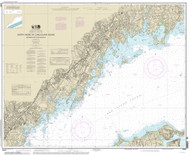 Greenwich Point to New Rochelle 2013 - Old Map Nautical Chart AC Harbors 12367 - Connecticut