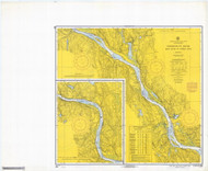 Deep River to Bodkin Rock 1968 - Old Map Nautical Chart AC Harbors 266 - Connecticut