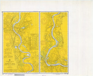 Bodkin Rock to Hartford 1970 - Old Map Nautical Chart AC Harbors 267 - Connecticut