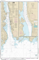 New London Harbor and Vicinity 2014 - Old Map Nautical Chart AC Harbors 13213 - Connecticut