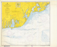 Nantucket Sound Osterville to Green Pond 1967 Old Map Nautical Chart AC Harbors 2 259 - Massachusetts