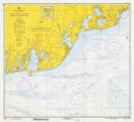 Nantucket Sound Osterville to Green Pond 1971 Old Map Nautical Chart AC Harbors 2 259 - Massachusetts