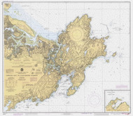 Ipswich Bay to Gloucester Harbor 1984 - Old Map Nautical Chart AC Harbors 1 243 - Massachusetts