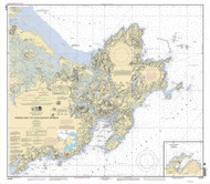 Ipswich Bay to Gloucester Harbor 2009 - Old Map Nautical Chart AC Harbors 1 243 - Massachusetts