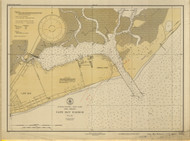 Cape May Harbor 1931 A - Old Map Nautical Chart AC Harbors 234 - New Jersey