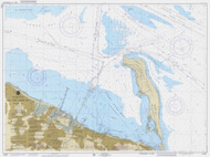 New York Lower Bay Southern Part 1988 - Old Map Nautical Chart AC Harbors 12401 - New Jersey