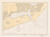 Cape May Harbor 1935 - Old Map Nautical Chart AC Harbors 234 - New Jersey