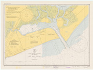 Cape May Harbor 1941 - Old Map Nautical Chart AC Harbors 234 - New Jersey