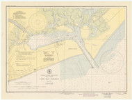 Cape May Harbor 1945 - Old Map Nautical Chart AC Harbors 234 - New Jersey