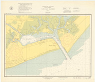 Cape May Harbor 1950 - Old Map Nautical Chart AC Harbors 234 - New Jersey