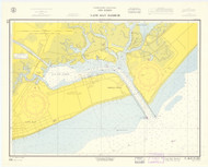 Cape May Harbor 1960 - Old Map Nautical Chart AC Harbors 234 - New Jersey