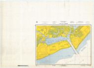 Cape May Harbor 1966 - Old Map Nautical Chart AC Harbors 234 - New Jersey