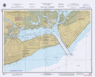 Cape May Harbor 1980 - Old Map Nautical Chart AC Harbors 234 - New Jersey