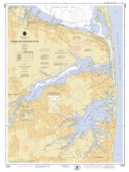 Navesink and Shrewsbury Rivers 2000 - Old Map Nautical Chart AC Harbors 543 - New Jersey