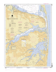 Navesink and Shrewsbury Rivers 2006 - Old Map Nautical Chart AC Harbors 543 - New Jersey