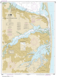 Navesink and Shrewsbury Rivers 2014 - Old Map Nautical Chart AC Harbors 543 - New Jersey