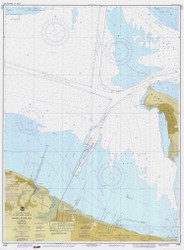 Sandy Hook Bay 1978 - Old Map Nautical Chart AC Harbors 12330 - New Jersey