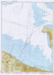 Sandy Hook Bay 1982 - Old Map Nautical Chart AC Harbors 12330 - New Jersey