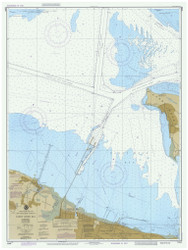 Sandy Hook Bay 1986 - Old Map Nautical Chart AC Harbors 12330 - New Jersey