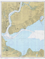 Raritan Bay and Southern Part of Arthur Kill 1981 - Old Map Nautical Chart AC Harbors 12331 - New Jersey