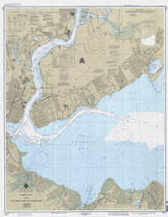 Raritan Bay and Southern Part of Arthur Kill 1995 - Old Map Nautical Chart AC Harbors 12331 - New Jersey