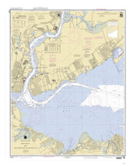 Raritan Bay and Southern Part of Arthur Kill 2002 - Old Map Nautical Chart AC Harbors 12331 - New Jersey